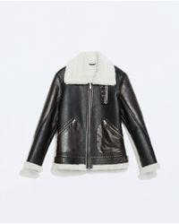Zara Reversible Jacket - Lyst