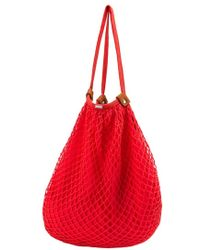 Volcom - 'island Vibe' Crochet Cotton Hobo Bag - Lyst