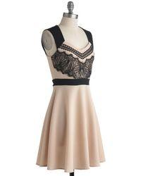 Monteau Inc - An Elegant Impression Dress - Lyst