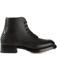 DSquared2 Black Ankle Boots - Lyst