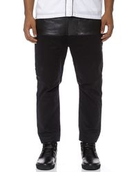 Chapter - Khan Half Leather Pants - Lyst
