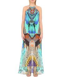 Camilla - My Heart Silk Maxi Dress - Lyst