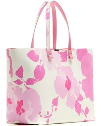 Victoria Beckham Simple Printed Leather Shopper - Lyst
