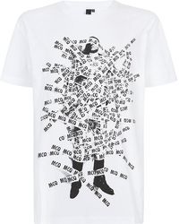 McQ by Alexander McQueen Taped Man Tshirt - Lyst