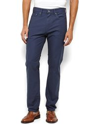 Levi's Blue 508 Regular Taper Jeans - Lyst