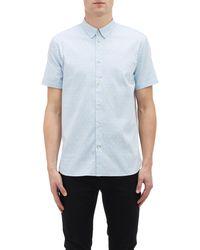 Paul Smith Polka-dot Short-sleeve Shirt - Lyst
