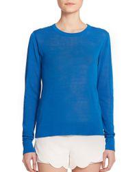 A.L.C. Knox Cutout Sweater blue - Lyst