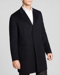 Armani Wool Coat - Lyst