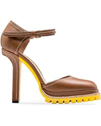 Marni | Mary-jane In Calfskin With Contrasting Stitching | Lyst
