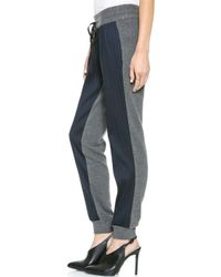Sachin & Babi Sachin Babi Astley Stripe Pants Navy - Lyst