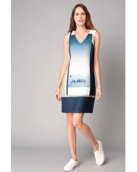 Nice Things - Short/knee Length Dress - Lyst