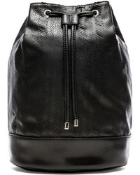 BCBGeneration Faux Leather Backpack - Lyst