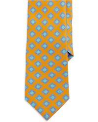 Ted Baker Silk Medallion Print Tie - Lyst