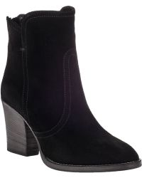 Aquatalia by Marvin K Farah Ankle Boot Black Suede - Lyst