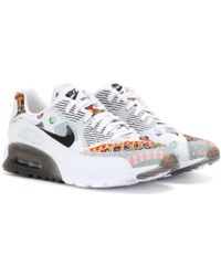 Nike x Liberty Air Max 90 Liberty Ultra Essential Sneakers white - Lyst