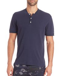 AG Green Label - Forged Polo - Lyst