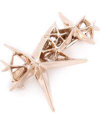 Pluie - Shooting Star Barrette - Rose Gold - Lyst