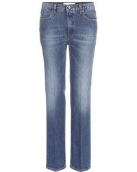 Victoria Beckham | Column Leg Jeans | Lyst