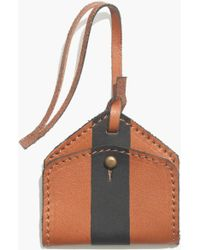 Madewell - Luggage Tag In Paintstripe - Lyst