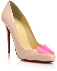 Christian Louboutin | Doracora Patent Leather Pumps | Lyst