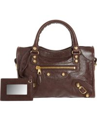 Balenciaga Arena Giant 12 Mini City brown - Lyst