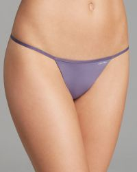 Calvin Klein Thong Sleek Model - Lyst