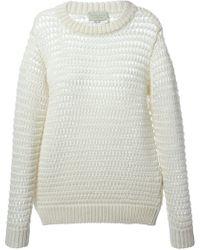 Forte Forte Open Knit Sweater - Lyst
