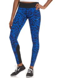Nike Epic Lux Printed Active Leggings - Lyst