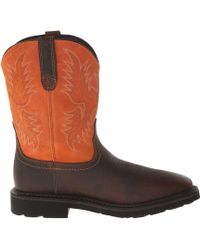 Ariat Sierra Wide Square Toe - Lyst