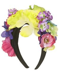 Topshop Tropical Floral Headband multicolor - Lyst