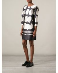 Stella McCartney Spotted Shift Dress - Lyst