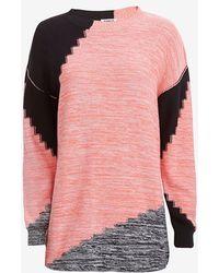 Sonia By Sonia Rykiel Marled Sweater Dress - Lyst