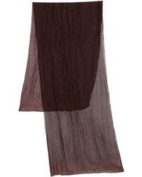 The Kooples Silk & Cotton Paisley Print Scarf - Lyst