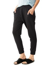 Alternative Apparel Light French Terry Slouchy Pants - Lyst