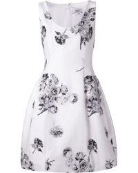 Prabal Gurung Floral Jacquard Print Dress - Lyst