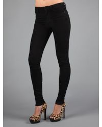 Joe's Jeans Skinny Visionnaire In Becca Black black - Lyst