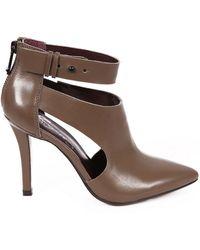 Report Signature Deshah Faux Leather Stilettos - Lyst