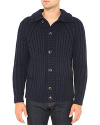 AG Adriano Goldschmied The Cabeled Sweater Jacket - Lyst