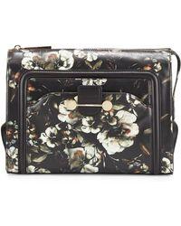Jason Wu Daphne Floral Leather Clutch Bag - Lyst