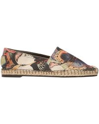 Valentino | Butterfly Cotton Canvas Espadrilles | Lyst