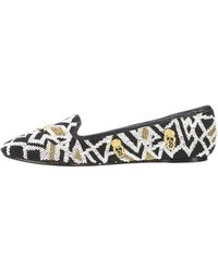 House of Harlow 1960 | Marion Beaded Flat Moccasins | Lyst