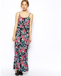 Oasis Floral Maxi Dress - Lyst