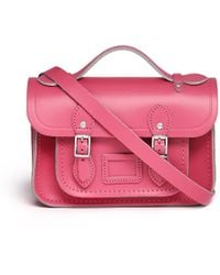 Cambridge Satchel Company The Mini 85 Leather Satchel - Lyst