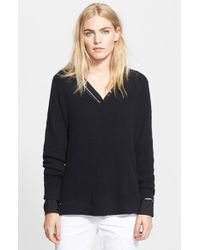 Vince V-Neck Sweater - Lyst