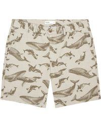 Onassis Clothing Whale Print Short - Lyst