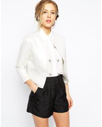 True Decadence Edge To Edge Blazer - Lyst