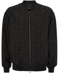 3.1 Phillip Lim Zip-Up Harrington Jacket - Lyst
