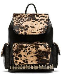 Simone Camille - Adorned Haircalf Backpack - Jaguar/Black - Lyst