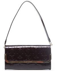 Louis Vuitton | Pre-owned Amarante Vernis Rossmore Mm Bag | Lyst