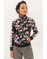 Adidas Orchid Track Jacket - Lyst